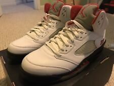 2008 Air Jordan Retro 5 Fire Red CDP 10.5 DS Deadstock