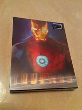 Iron Man Blu-ray Steelbook w/ Lenticular Slipcase Blufans | V2 | Marvel | NEW