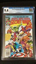MARVEL SUPER HEROES SECRET WARS #1 CGC GRADED 9.4 - Newstand (1984 MARVEL) WP