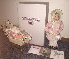 Ashton Drake Doll Victorian Make-Believe, Rabbit Carriage Cindy McClure!!!
