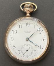 Vintage 1900 Ball Waltham Model 1899 Pocket Watch Running GF Case 16s 17j USA