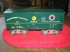 McCoy Standard Gauge Northern Pacific Green Box Car # 257