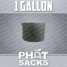 1 GALLON FABRIC GROW POTS SMART g container gro sacks breathable pots planters 1