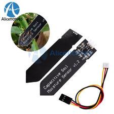 12510pcs Analog Capacitive Soil Moisture Sensor Corrosion Resistant V12