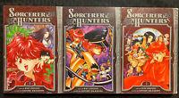 Sorcerer Hunters 1, 2, 3 Manga Graphic Novel OOP Fantasy Tokyopop