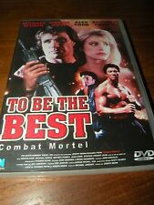 DVD   TO BE THE BEST  combat mortel  langue française
