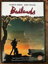 Martin Sheen Sissy Spacek BADLANDS ~ 1973 Terrence Malick Crime Classic UK DVD