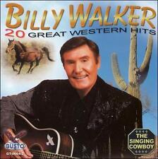 "BILLY WALKER, CD ""20 GREAT WESTERN HITS"" NEW SEALED"