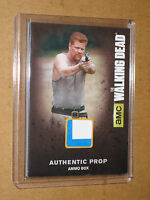 ** THE WALKING DEAD 2016 ABRAHAM M48 AMMO BOX PROP RELIC TV MEMORABILIA CARD 1 4