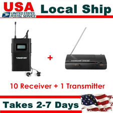 Takstar WPM-200 Wireless In-Ear Stage Monitor System 1 Transmitter+10 Receivers