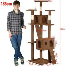 """73"""" Cat Tree Activity Center Play House Condo Scratching Post Pet Tower"""