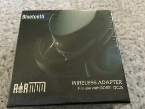 Bolle & Raven Wireless Bluetooth Adapter for Bose Headphones (QC25) Sealed Box