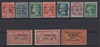 G139007/ FRENCH SYRIA – YEARS 1922 - 1924 MINT MH SEMI MODERN LOT – CV 110 $
