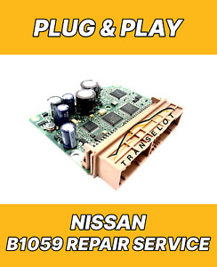 NISSAN AIRBAG ECU SRS MODULE INTERNAL FAULT CODE B1059 REPAIR RESET SERVICE