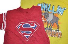 Lot of 2 Boy's T Shirts Superman Disney Frozen 2T