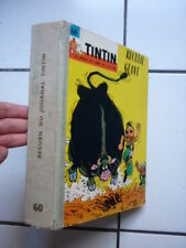 TINTIN  / RELIURE EDITEUR  FRANCAISE  NUMEROS  60   ( 786 A 805    )