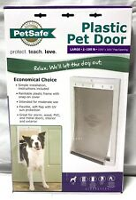 PetSafe Premium Plastic Pet Door ~ White ~ Large Ppa00-10960