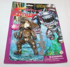 "Sharks Ocean Warrior Action Figure Toy 6"" Jemark Bootleg New Carded Blue"