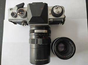 PRAKTICA VLC 2 Spiegelreflexkamera - Objektive 1,8 / 50 2,9/135