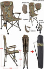 Jungleland Camouflage Oversized High-Back Camping Folding Chair...