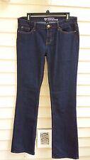 GAP JEANS 8/29L BOOTCUT FIT SEMI-EVASEE STRETCH  DARK DENIM