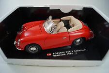 Voiture Miniature 1:18 Porsche 356b Cabriolet 1961 * dans neuf dans sa boîte *