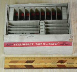 """1940s Eversharp Pencil Lead & Display Case for """"Take It or Leave It"""" Radio Show"""