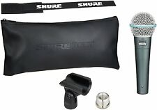 Shure BETA 58A Supercardioid Dynamic Mic Vocal/Instrument WARRANTY FREE-2DAY NEW