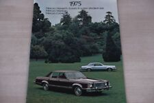 185425) Mercury Monarch Montego Comet - USA - Prospekt 1975