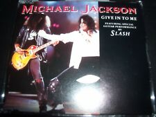 Michael Jackson - Give In To Me Featuring Slash Australian CD Single
