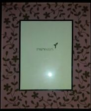 PAPYRUS 5x7 MIRROR FRAME W/ PINK FLOWERS Floral NEW RARE HTF Free Shipping