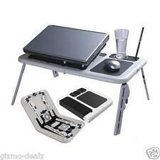 New ETable Portable LAPTOP TABLE Laptop Stand E Table With USB Fan NOTE BOOK tab
