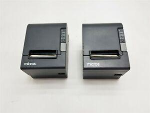 Epson Micros TM-T88IV Model M129H Thermal Receipt Cash Drawer POS Printer Lot 2
