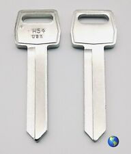 """H54 """"Long Blade"""" Key Blanks for Ford, Lincoln, Mazda, and others (5 Keys)"""