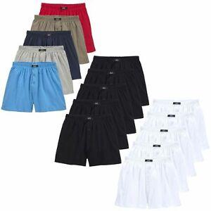 weite Herren Boxershorts mit Eingriff HIS Unterhosen Baumwolle H.I.S   5 Stück