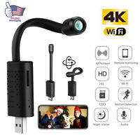 Mini USB IP Camera Wireless WiFi IP Security Camcorder HD 1080P Hidden Cam Black