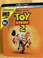 Toy Story 2 Steelbook (4K Uhd + Bluray) No digital