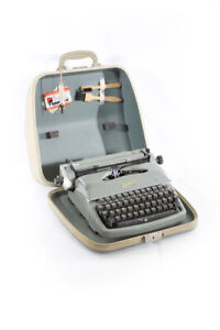 Old Typewriter Rheinmetall Typewriter Old Vintage