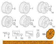 VW VOLKSWAGEN OEM 11-14 Jetta Wheels-Wheel Cover 5C0601147AQLV