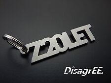"""Schlüsselanhänger """"Z20LET"""" - Astra Zafira OPC - hochwertiger Edelstahl GEBÜRSTET"""