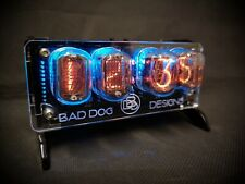 'Junior' Desktop Nixie tube Clock from Bad Dog Designs