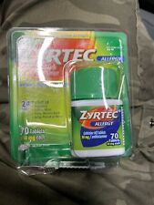 Zyrtec 70 Plastic Is Open Product Is Sealed Exp 08/22