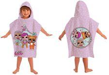 Kids LOL Surprise Theatre Club Hooded Poncho 100%Cotton Bath Towel