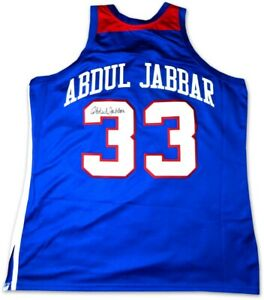 Kareem Abdul-Jabbar Signed Autographed Jersey 1980 All-Star West Lakers Fanatics