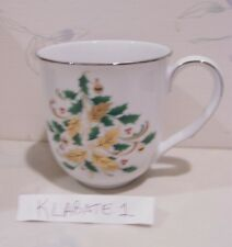 NEW Noritake STONELEIGH Holiday Accent Coffee Mugs  (Multi Available) BRAND NEW