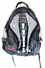 Black and Gray Backpack by LA Gear