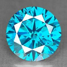 WOW 0.83 Cts SPARKLING 100% Natural Nice Electric Blue color african Diamond