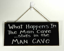 Hanging wall plaque - Man Cave