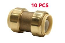 "10 PCS  1"" X 1"" SHARKBITE STYLE PUSH FIT COUPLINGS-Lead Free"