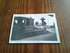Rare real photo snapshot of a Porter locomotive engine, PA? Unknown location
